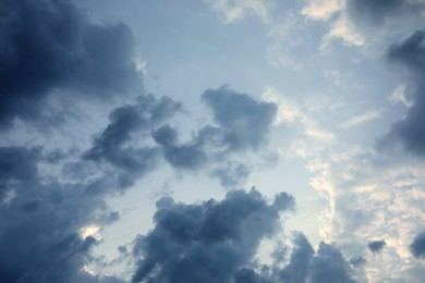 Beautiful view of sky with clouds outdoors
