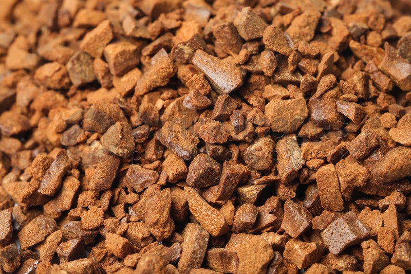Pile of chicory granules as background, closeup